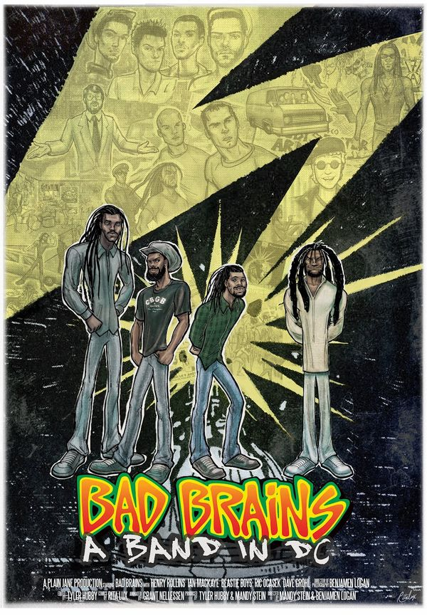 BADBRAINS_the movie poster Ritalux 1