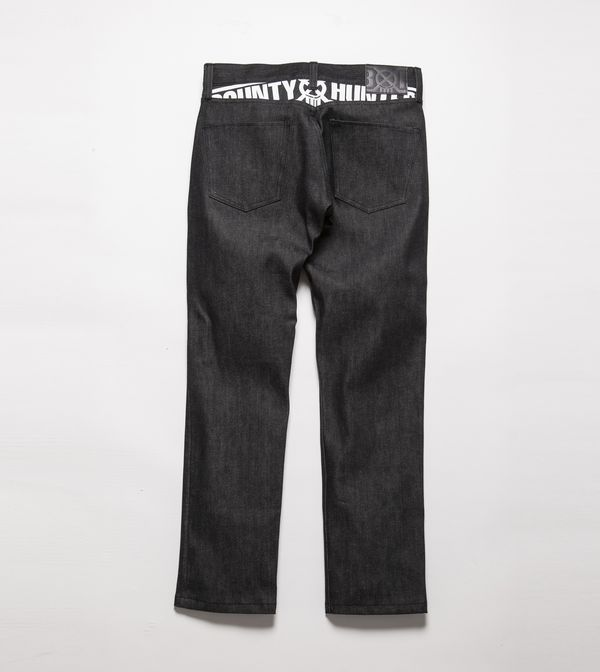 BHPN BxH Slim Fit Denim Pants Back