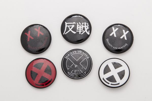 BHFA BxH Can Badge Set ¥800+tax