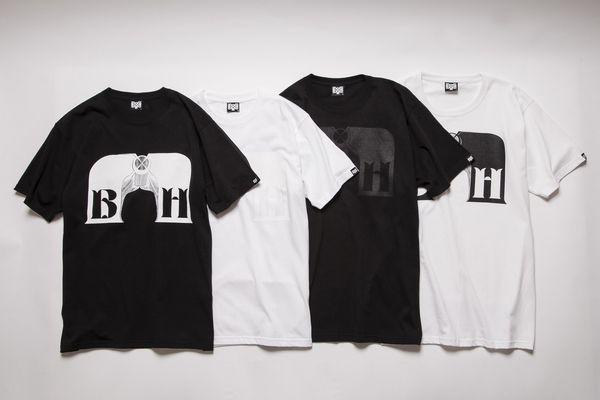 BHST BxH QP Logo Tee ¥5,800+tax