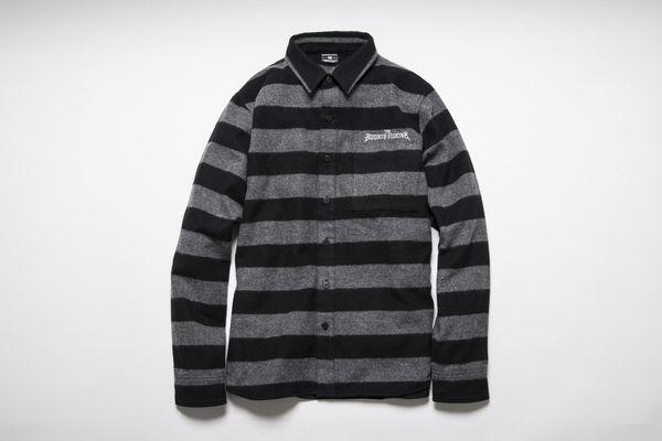 BHSH BxH Flannel Border Shirts ¥19,800+tax