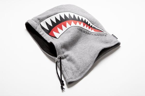 BHFA BxH Shark Teeth Hooded Warmer ¥12,800+tax