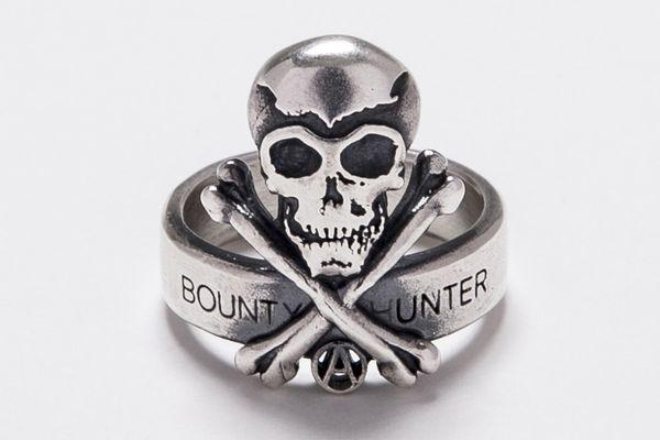 BHFA BxH Skull Ring SV925 ¥18,000+tax