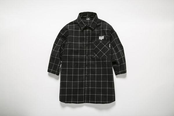 BHSH BxH Line Check 3:4 Shirts ¥14,800+tax