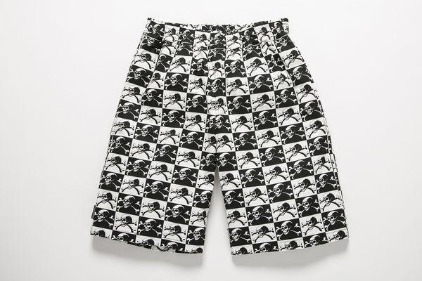 BHPN BxH Skull Checker Half Pants ¥14,800+tax