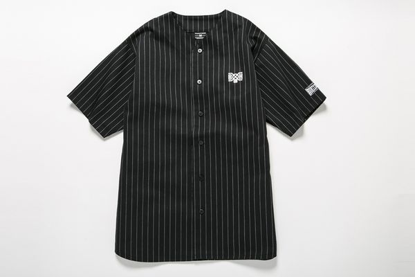 BHSH BxH Pin-stripe Baseball Shirts ¥15,800+tax