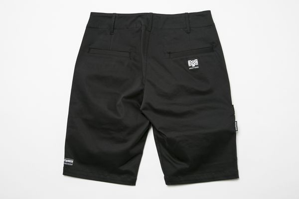 BHPN BxH Zip Half Pants Back