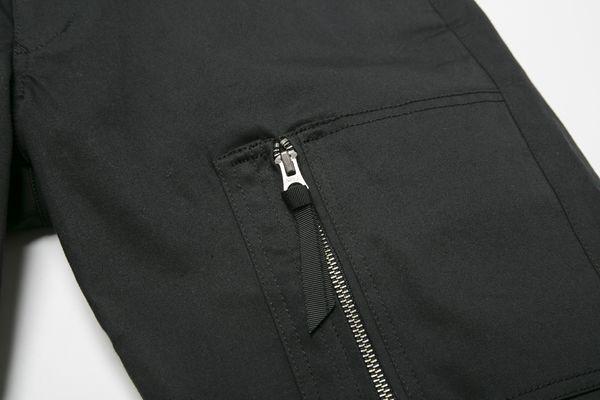 BHPN BxH Zip Half Pants Detail2