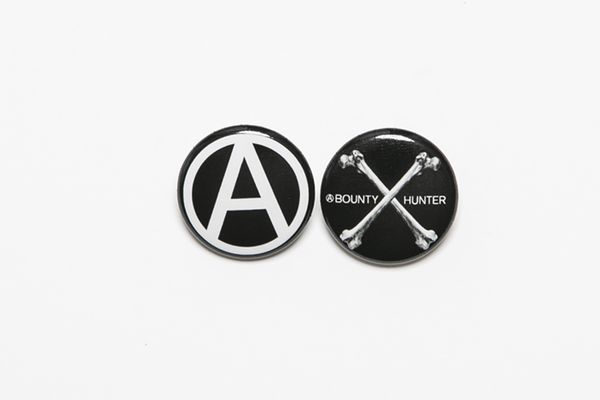 BHFA BxH Bones:Circle A Can Badge ¥800+tax