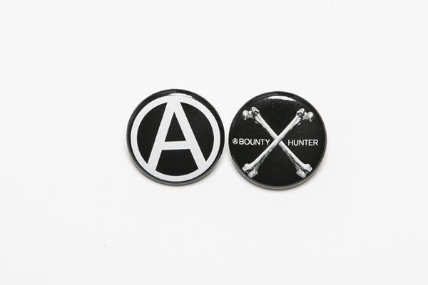 BHFA BxH Bones:Circle A Can Badge ¥800+tax