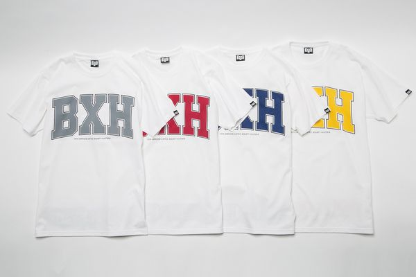 BHST BxH College BxH Tee White ¥5,800+tax