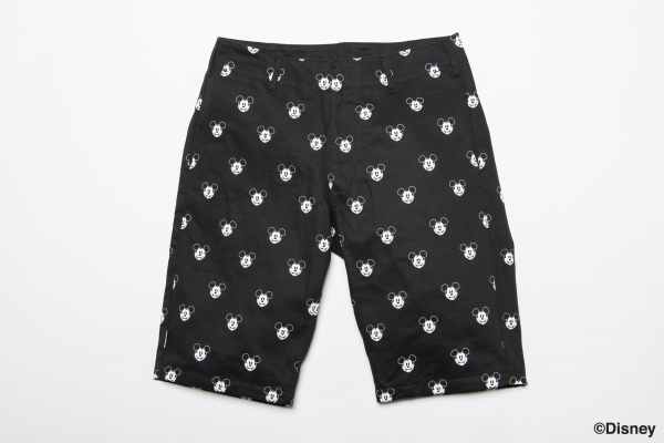 BDPN BxH:Mickey Half Pants ¥18,800+tax