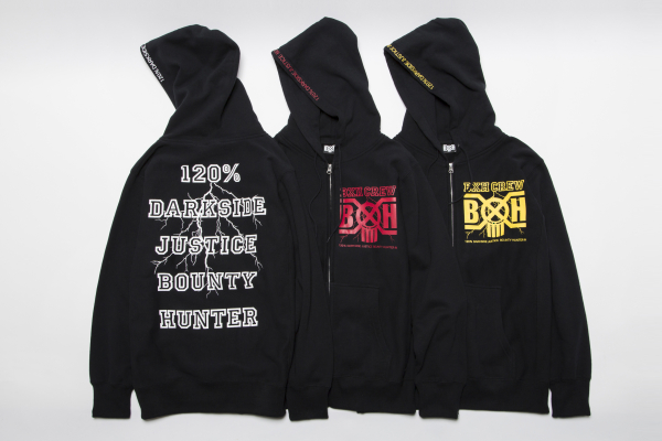 BHLC BxH The Storm Zip-up Pk ¥14,800+tax