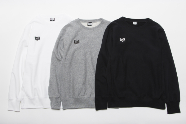 BHLC BxH Embroidery Logo Crew Neck Sw ¥10,800+tax