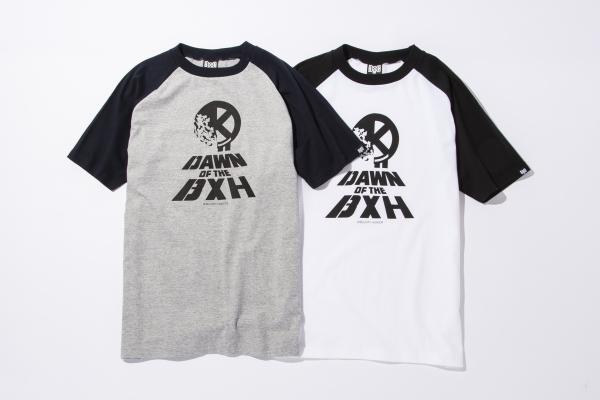 BHSC BxH D.O.T.D Raglan Tee ¥6 000+tax