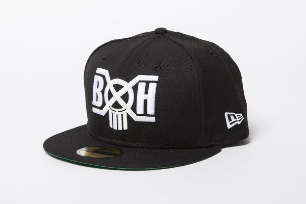BHFA BxH : NewEra Logo 59 fifty Side