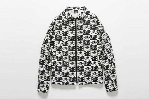 BHJK BxH Skull Checker Jkt ¥21,800+tax