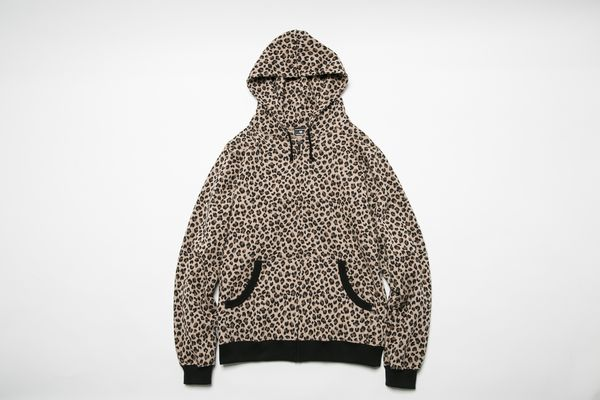 BHLC BxH Leopard Zip-up Pk ¥17,800+tax