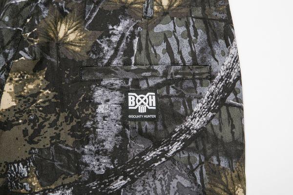 BHPN BxH Tree Camo Half Pants Back