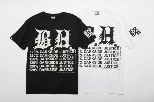BHST BxH B.H. 120% Darkside Justice Tee ¥5,800+tax