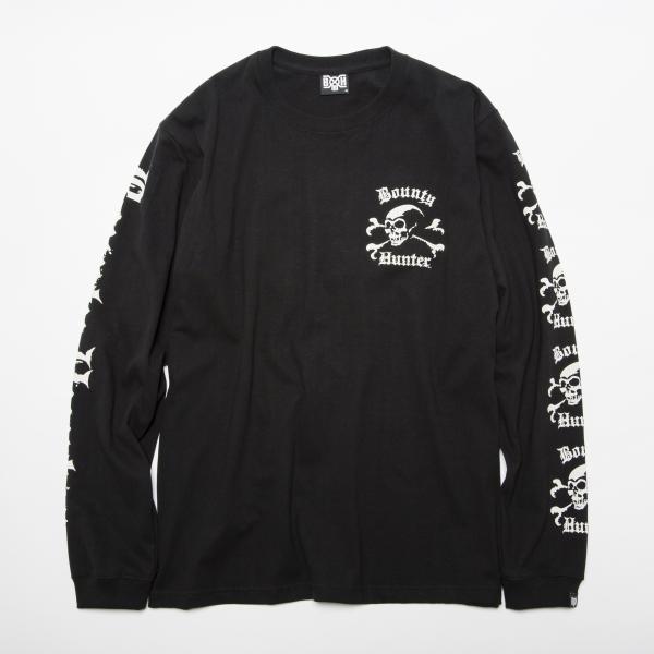 BHLC BxH Old Skull L:S Tee1 ¥7,000+tax