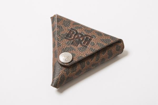 BHFA BxH Leopard Triangle Coin Case ¥3,800+tax