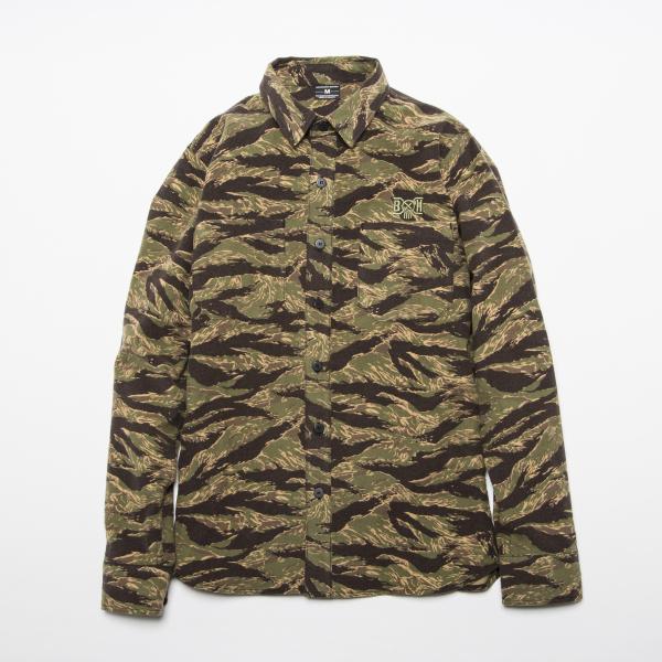 BHSH BxH Camo Flannel Shirts ¥17,800+tax