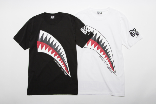 BHST BxH Shark Tee ¥5,800+tax