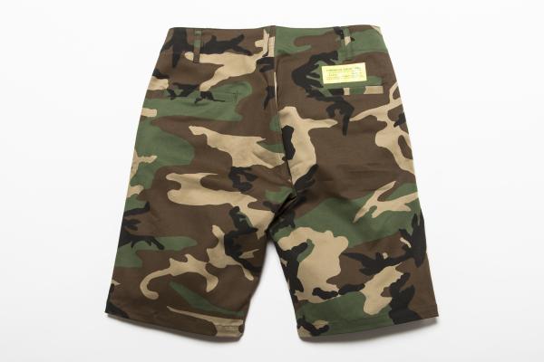 BHPN BxH Woodland Camo Stretch Half Pants-Back ¥16 800+tax