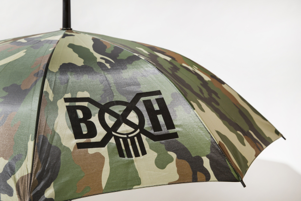 BHFA BxH Camo Umbrella Detail ¥5 800+tax