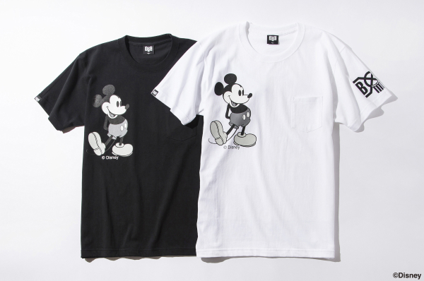 BDSC BxH : Mickey Pocket Tee ¥7 400+tax