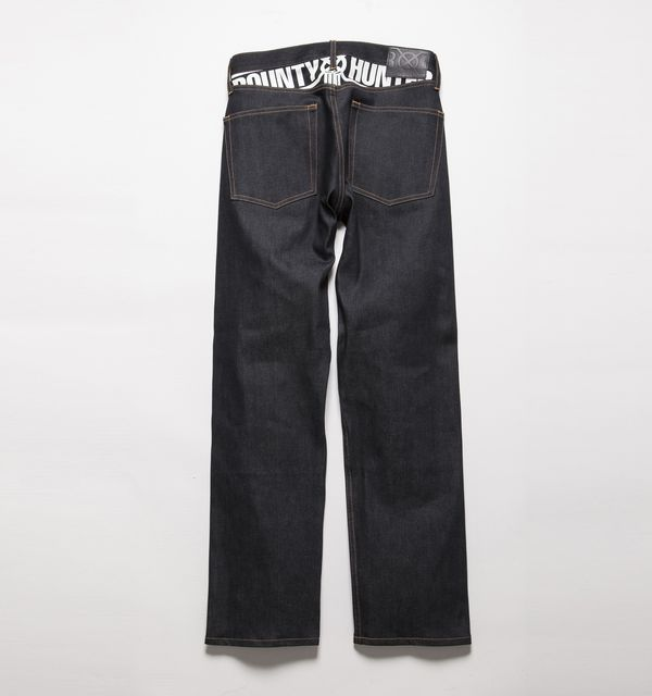 BHPN BxH Classic Fit Denim Pants Back