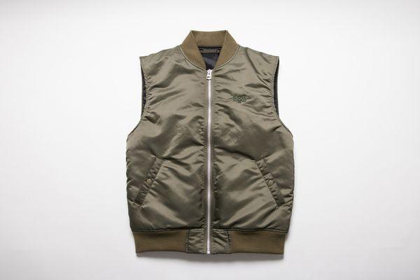 BHJK BxH MA-1 Vest ¥24,800+tax