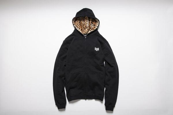 BHLC BxH Leopard Hood Zip-up Pk ¥19,800+tax