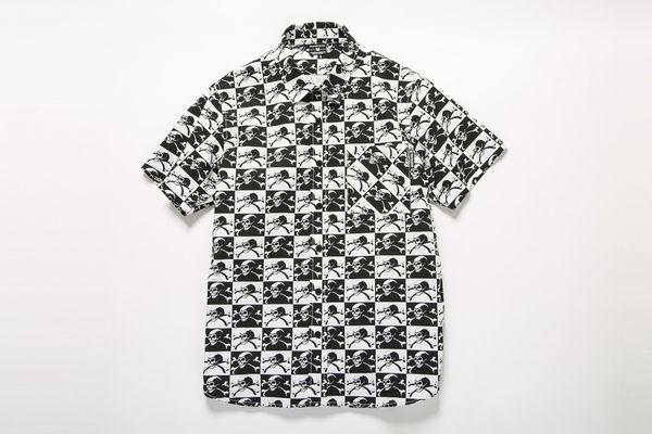 BHSH BxH Skull Checker Shirts ¥15,800+tax
