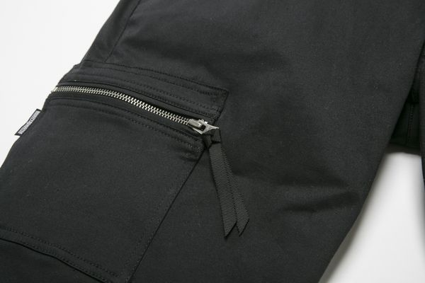 BHPN BxH Zip Half Pants Detail1