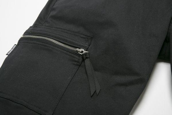BHPN BxH Zip Half Pants Detail1