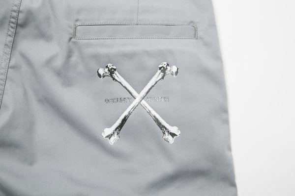 BHPN BxH Bones Half Pants Back