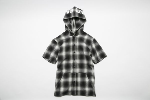 BHSH BxH Hooded Check Shirts ¥16,800+tax
