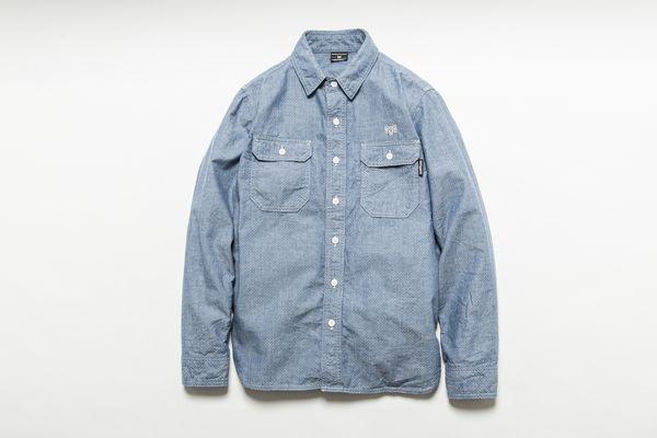 BHSH BxH Dot Chambray Shirts ¥19,800+tax