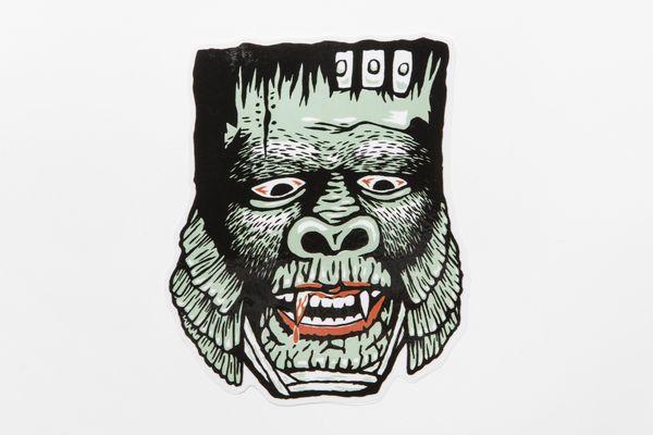 BHFA BxH Large Sketch Monster Sticker¥800+tax