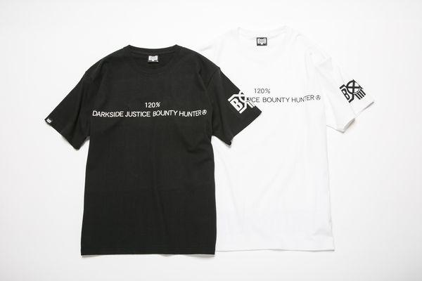 BHST BxH 120% Darkside Justice Bounty Hunter Tee ¥5,800+tax
