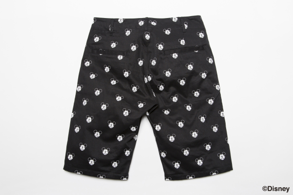 BDPN BxH:Mickey Half Pants back ¥18,800+tax