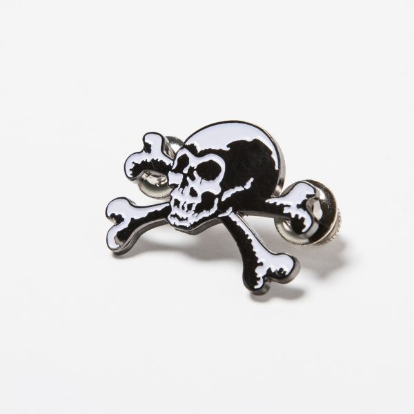 BHFA BxH Old Skull Pin2 ¥1,600+tax
