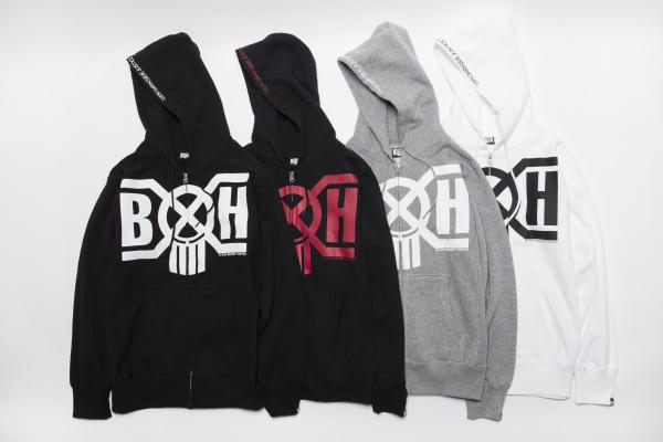 BHLC BxH Logo Zip-up Pk ¥14,800+tax