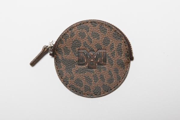 BHFA BxH Leopard Circle Coin Case ¥4,200+tax