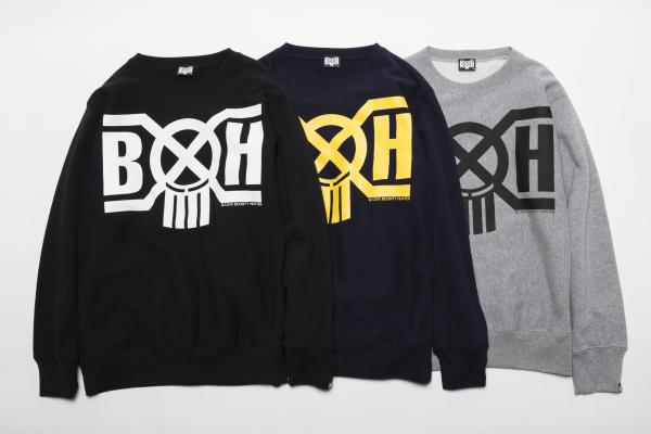 BHLC BxH Logo Crew Neck Sw ¥11,800+tax