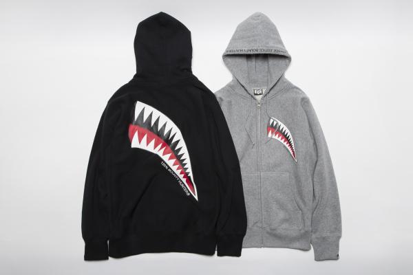 BHLC BxH Shark Zip-up Pk ¥14,800+tax