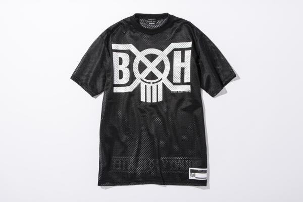 BHSC BxH Mesh Logo Tee 1 ¥10 800+tax