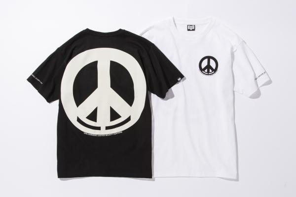 BHST BxH Peace Circle Logo Tee ¥5 800+tax